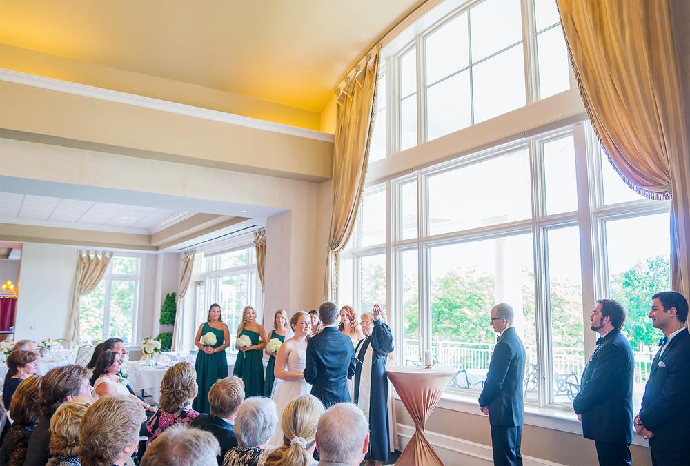 Springfield Country Club wedding in Virginia