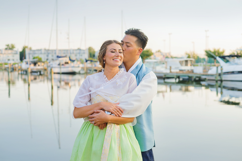 Oyster Cove waterfront wedding in annapolis maryland