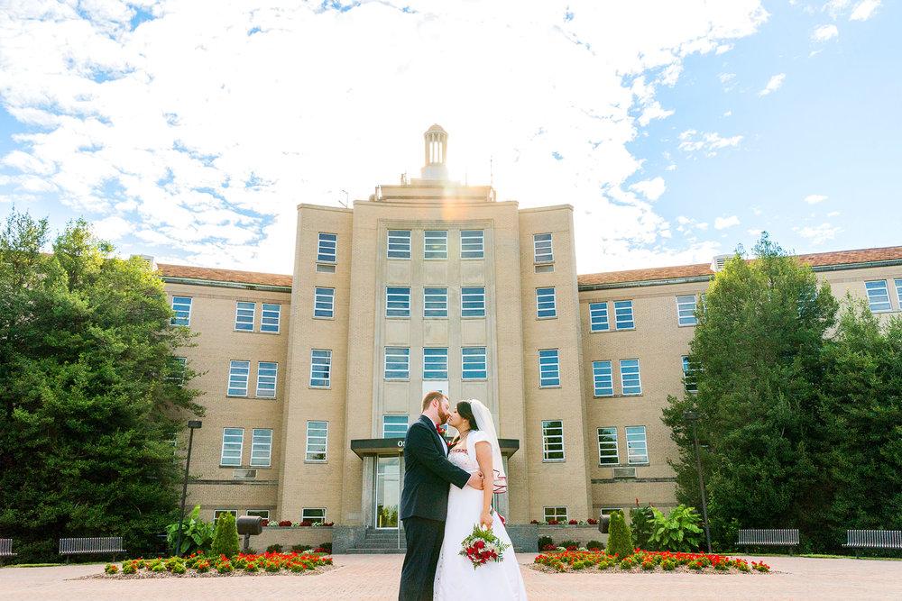 Wedding photos from the Bolger Center in Potomac