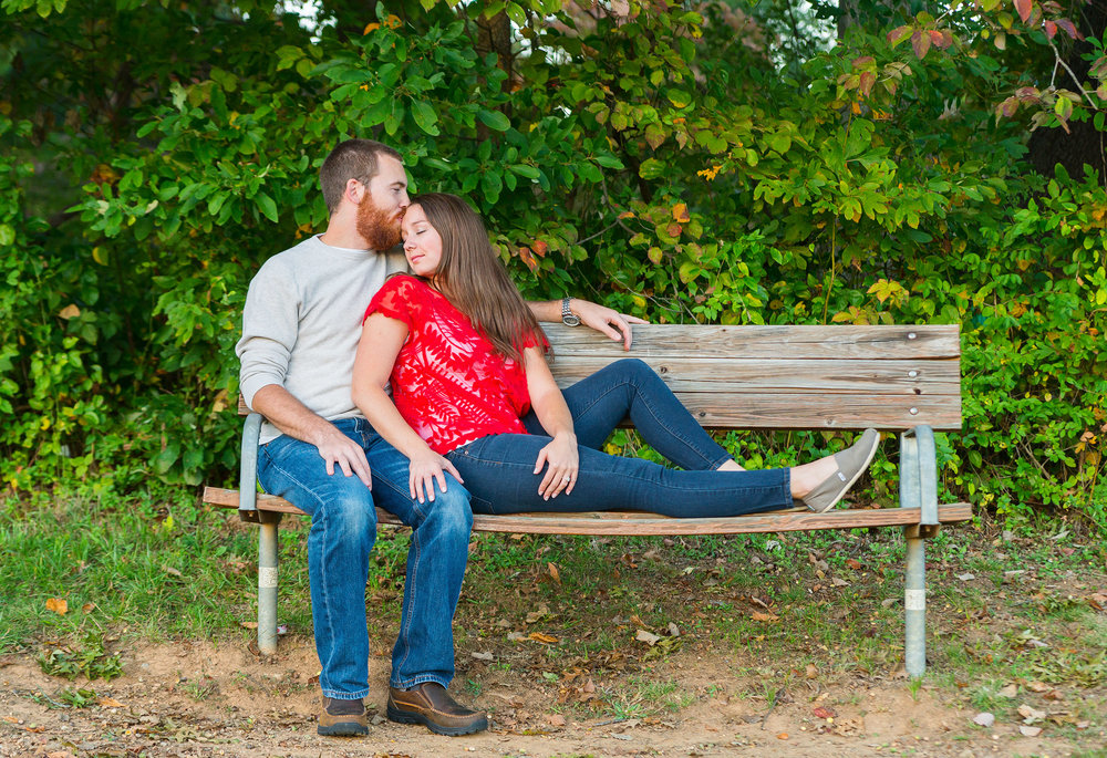 Beautiful engagement photos in rockville maryland at seneca creek park by jessica nazarova