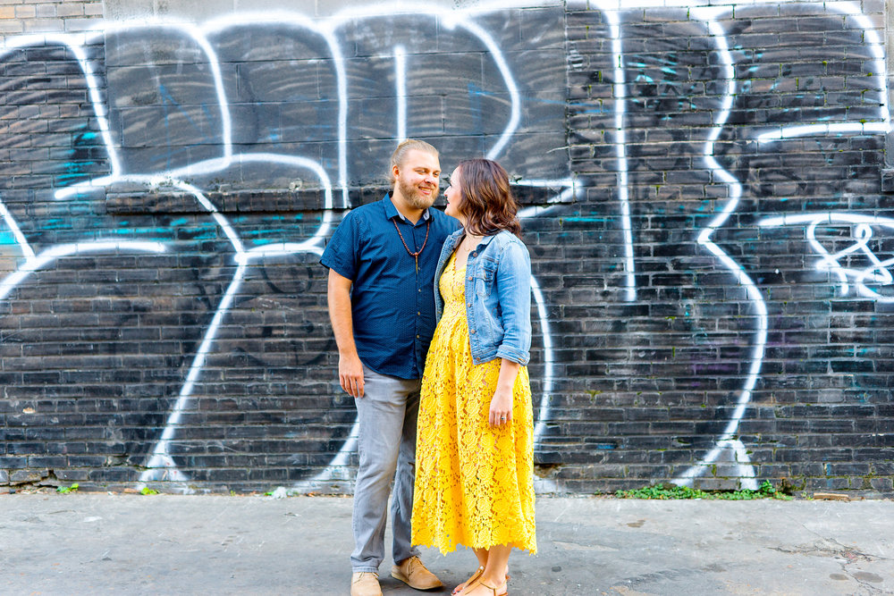 Awesome h street union market engagement photography in dc