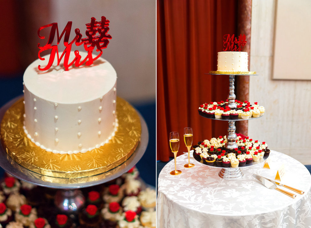Chinese wedding photography cake topper The Bolger Center