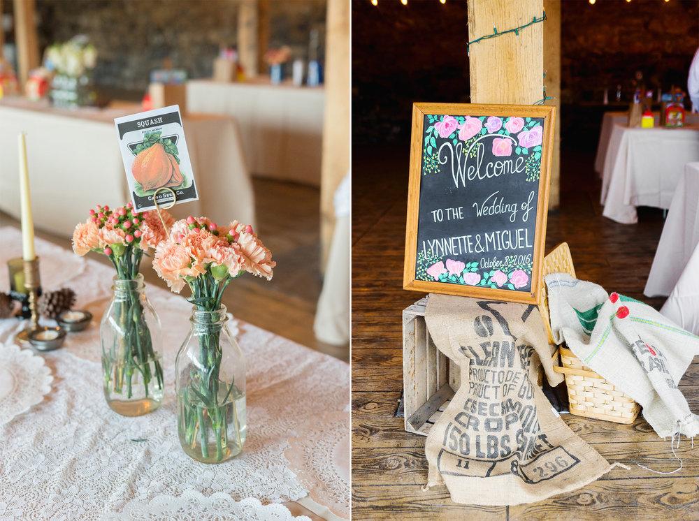 Elmwood Farm DIY barn wedding in Maryland