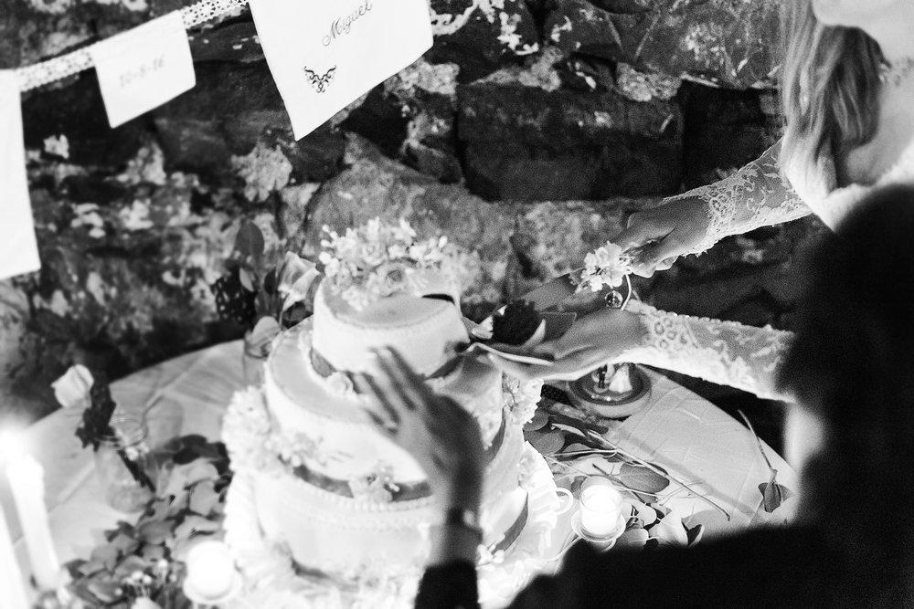 Cake cutting vintage wedding cake and decor in maryland