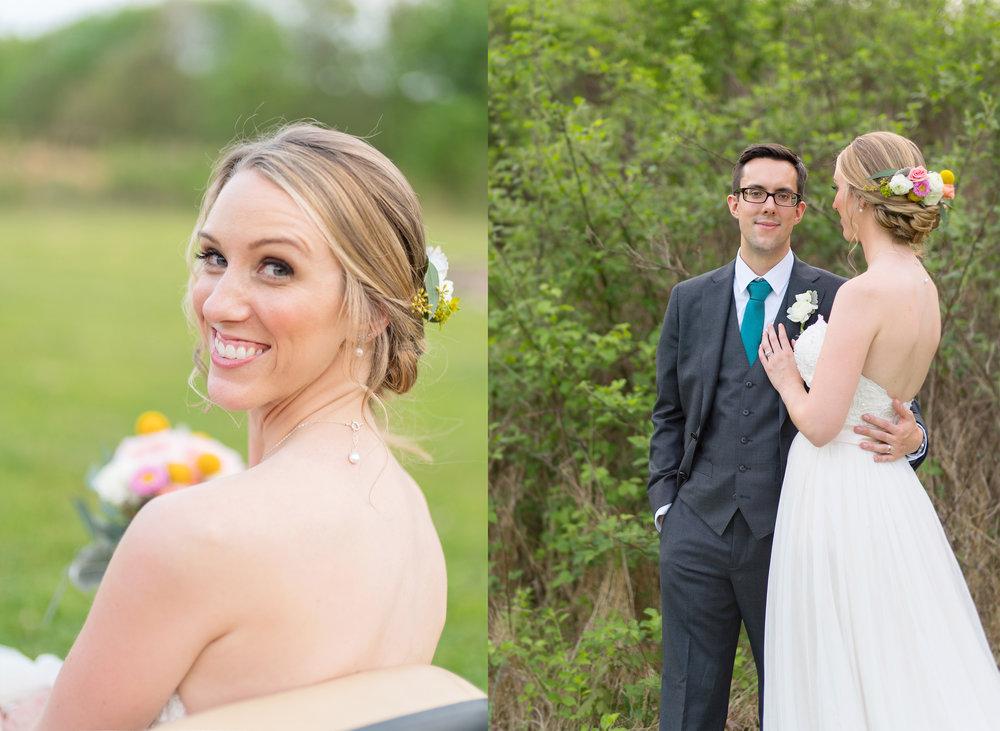 Summer wedding at Irvine Nature Center