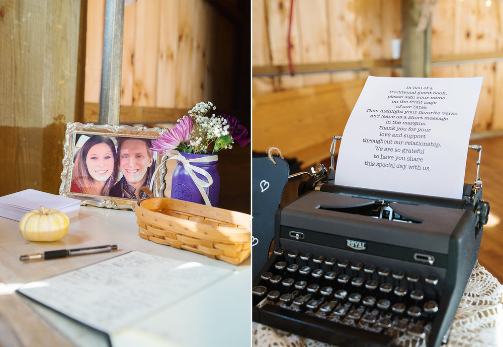 DIY wedding ideas for Steppingstone barn wedding
