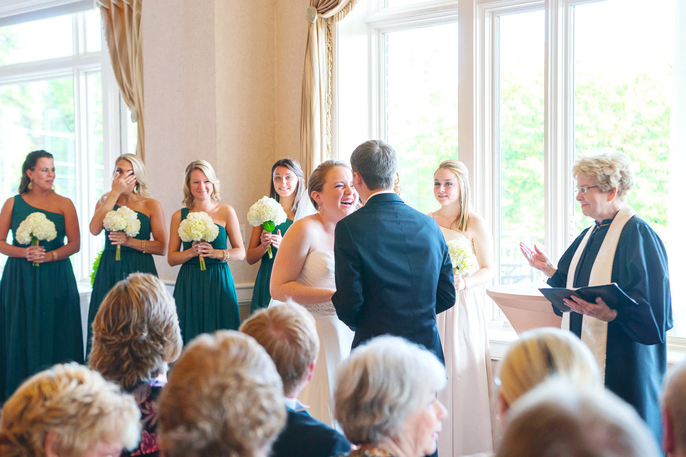 Springfield Golf and Country Club Virginia wedding