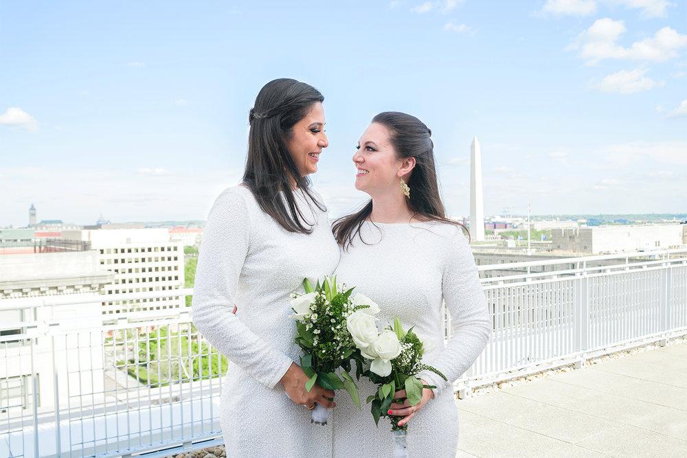 Alanna & Luz - GWU City View Room, Washington DC