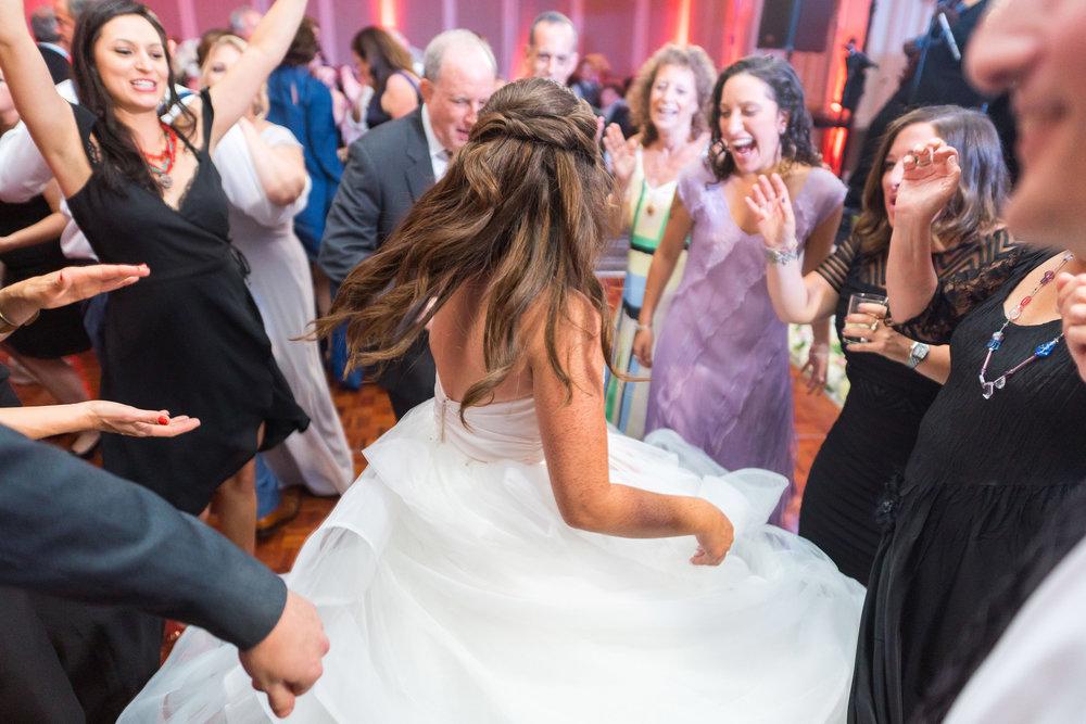 Awesome Jewish wedding reception at Hyatt Regency