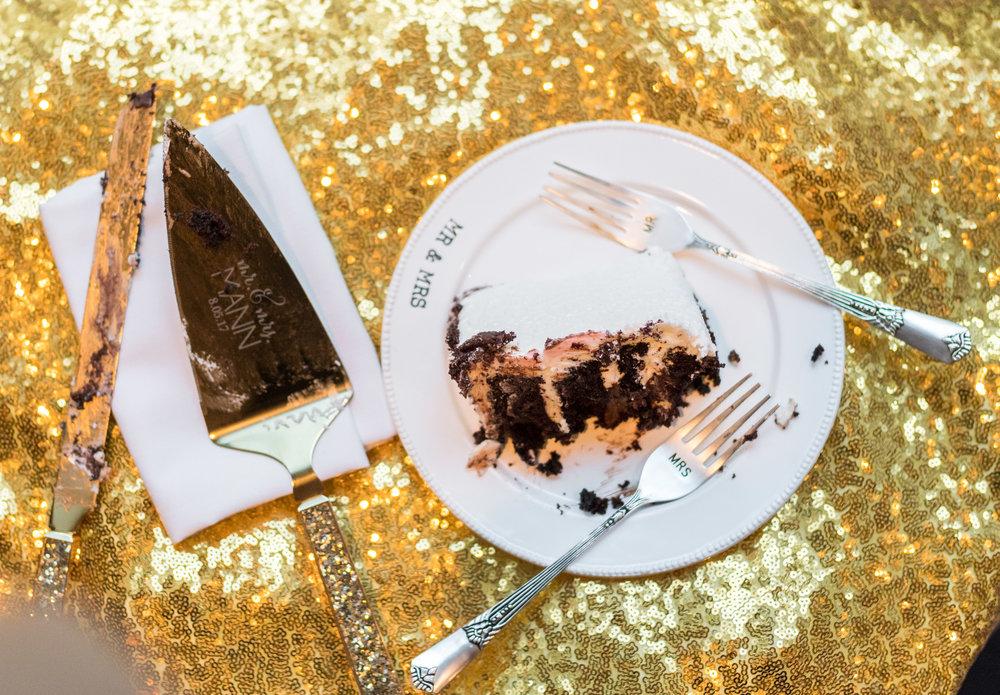 Chocolate and fondue wedding cake by 2941