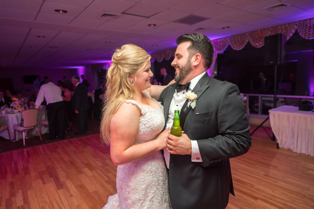 First and last dance photos at Ft Belvoir Wedding Reception