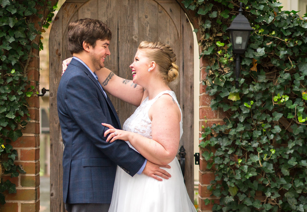 October wedding at Kentlands Mansion