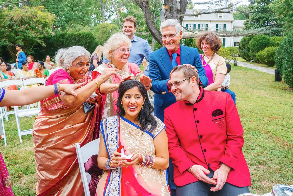 Rust Manor House playful indian wedding photography by Jessica Nazarova