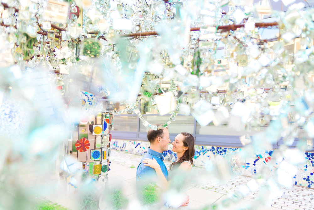 Baltimore Visionary Art Museum engagement photos by Jessica Nazarova