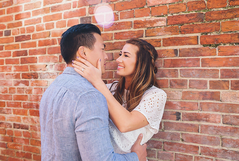 Annapolis spring engagement session downtown photos