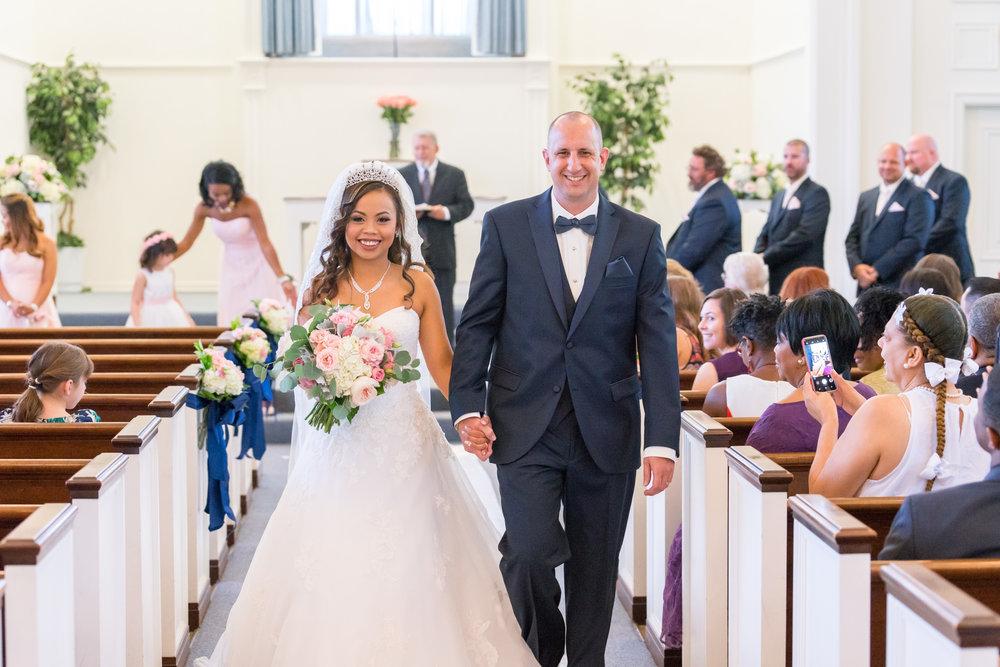 Fairfax church of christ wedding ceremony