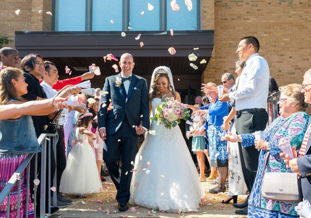 Fairfax church of christ wedding