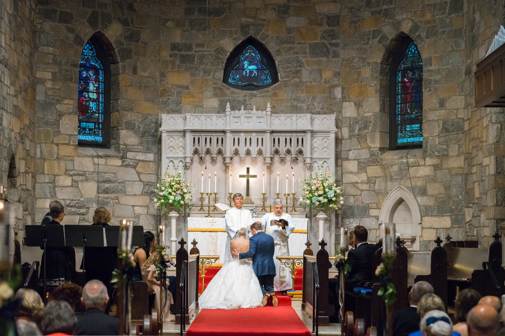 All Saints Episcopal Church wedding photos