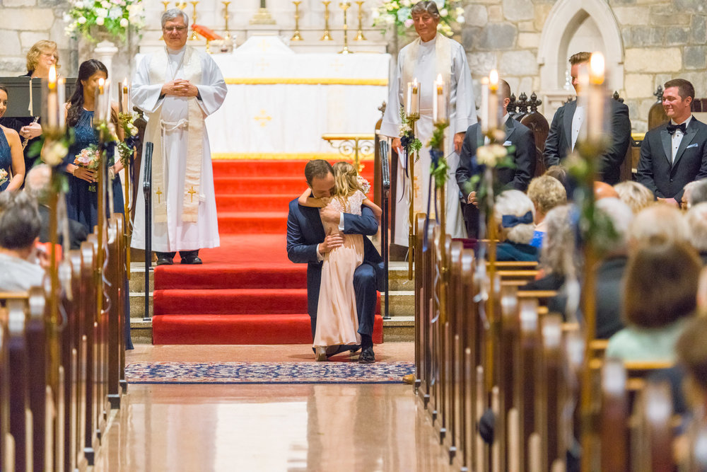 Amazing All Saints Episcopal Church wedding photos