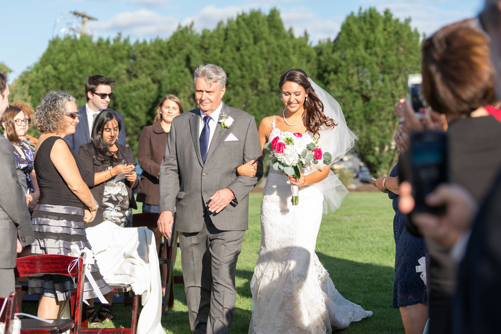 Bridal portraits at Chantilly National Golf Course wedding