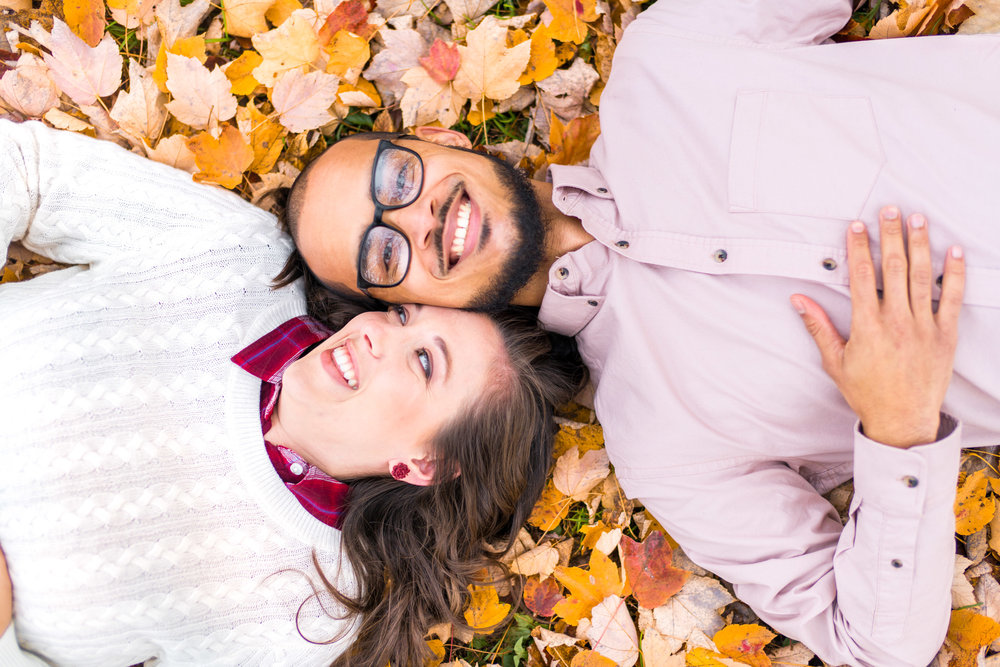 Frederick engagement session in autumn