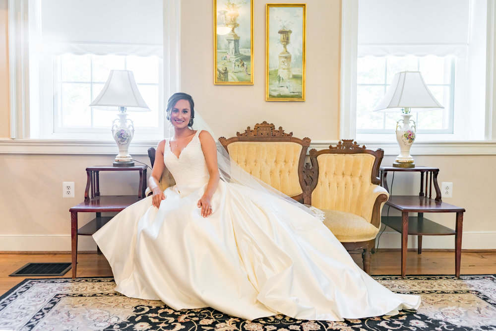 Bridal Suite at Springfield Manor in Maryland by jessica nazarova