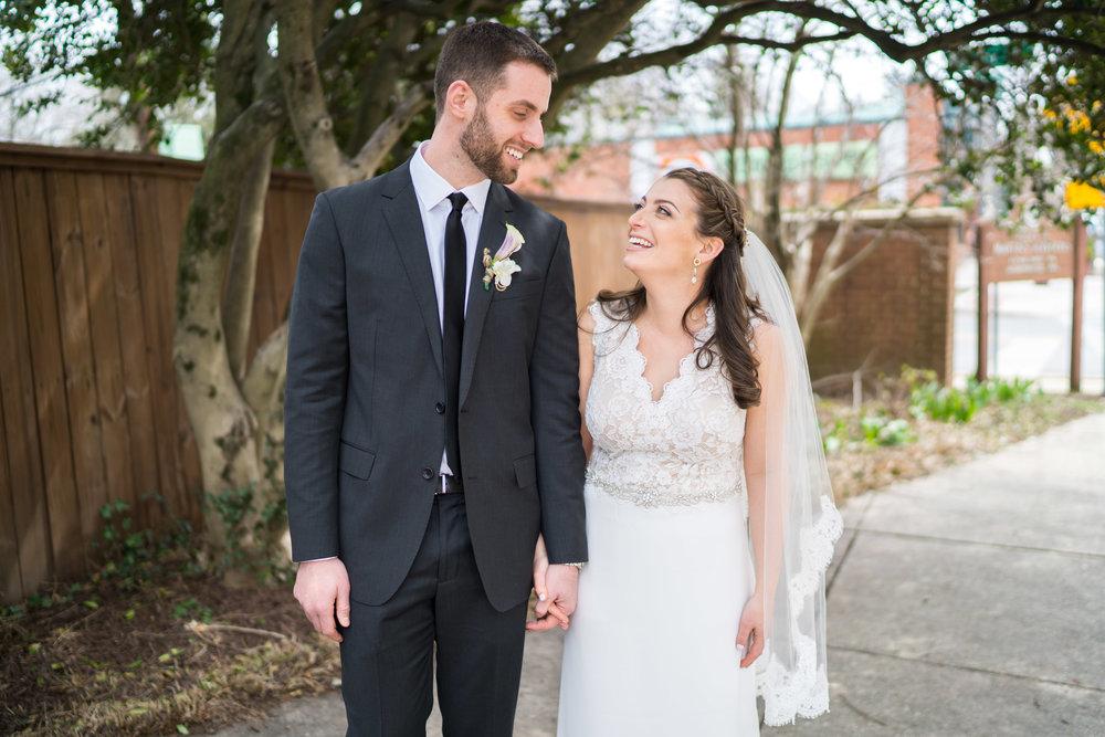 Jewish wedding ceremony at La Ferme in Maryland