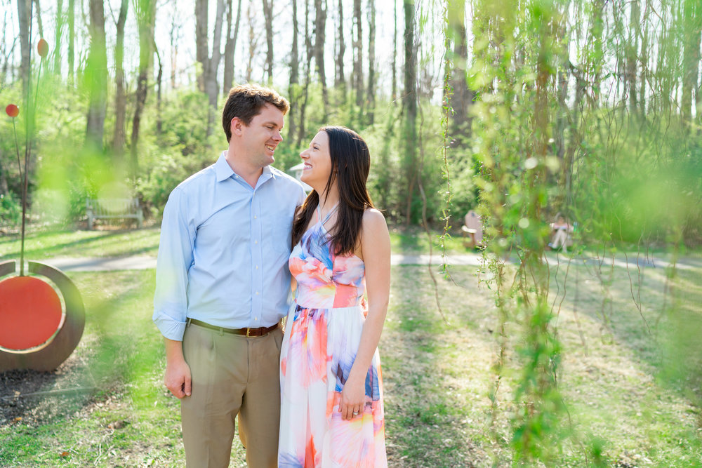 Sony a7riii engagement session in Spring in Virginia
