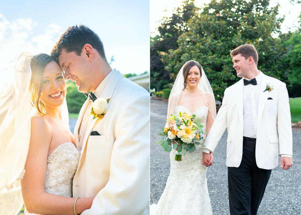Romantic wedding photos at Harvest House wedding in Leesburg