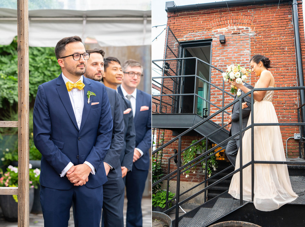 Urban wedding venue in DC Gallery OonH by Jessica Nazarova Photography