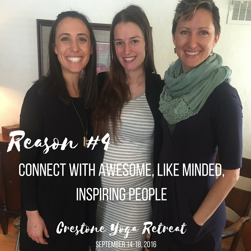 Connect with awesome, like-minded people that will inspire you to expand in your yoga practice and what you believe is possible for your life.