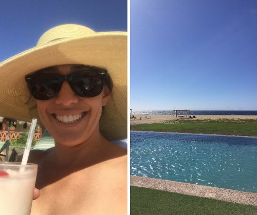 Mexico was mostly work, but I did sneak in a few hours of sunshine!
