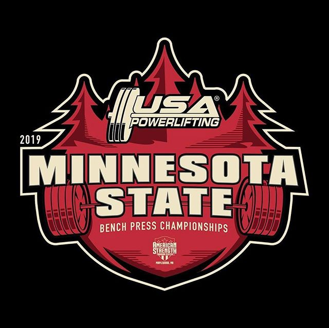 Make sure you come out and support all the athletes at the USA Powerlifting Minnesota State Bench Press Championship at American Strength on January 19th, 2019!  Doors are at 8am and the lifting starts at 9am!