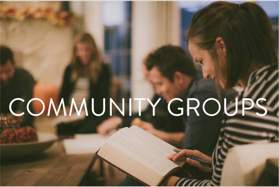 Fall 2015 Community Groups