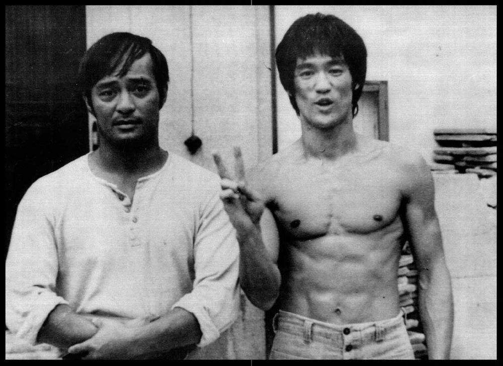 Guro Inosanto & Sigung Bruce Lee
