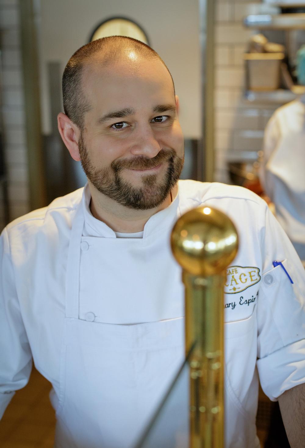Executive Chef Zachary Espinosa