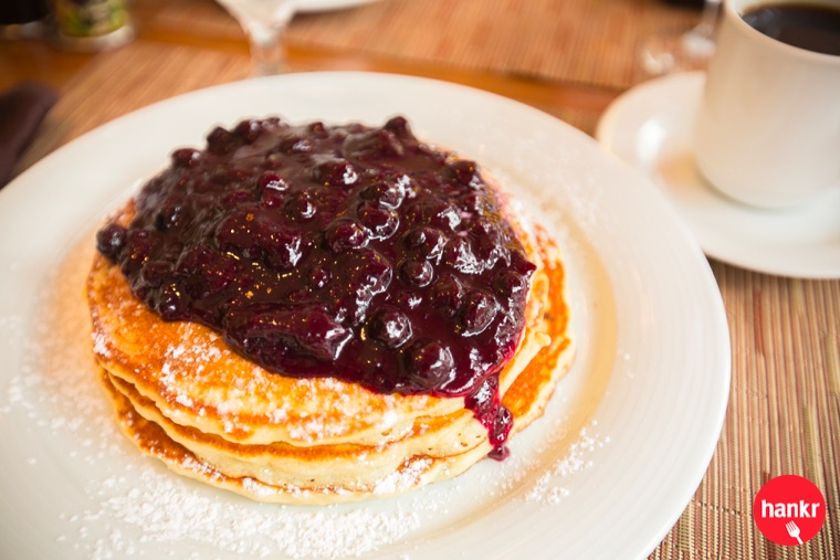 Blueberry Pancakes  from  Cafè at the Pfister
