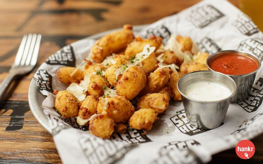 Fried C4 Cheese Curds from SafeHouse