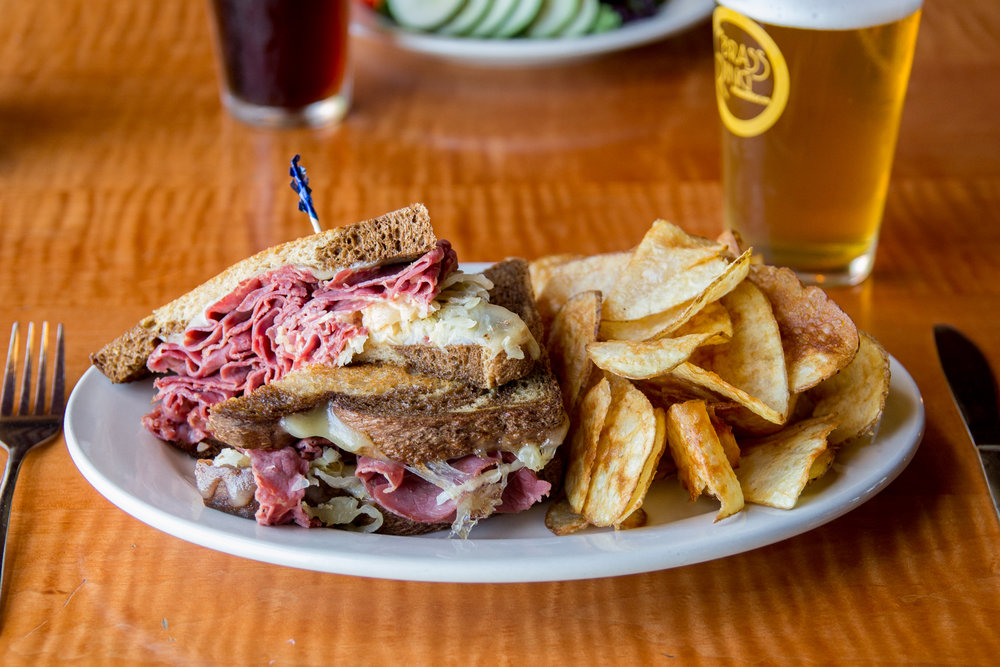 The Reuben Sandwich from The Brass Ring in Madison, WI