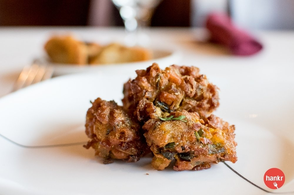 Vegetable Pakora from Amber Indian Cuisine