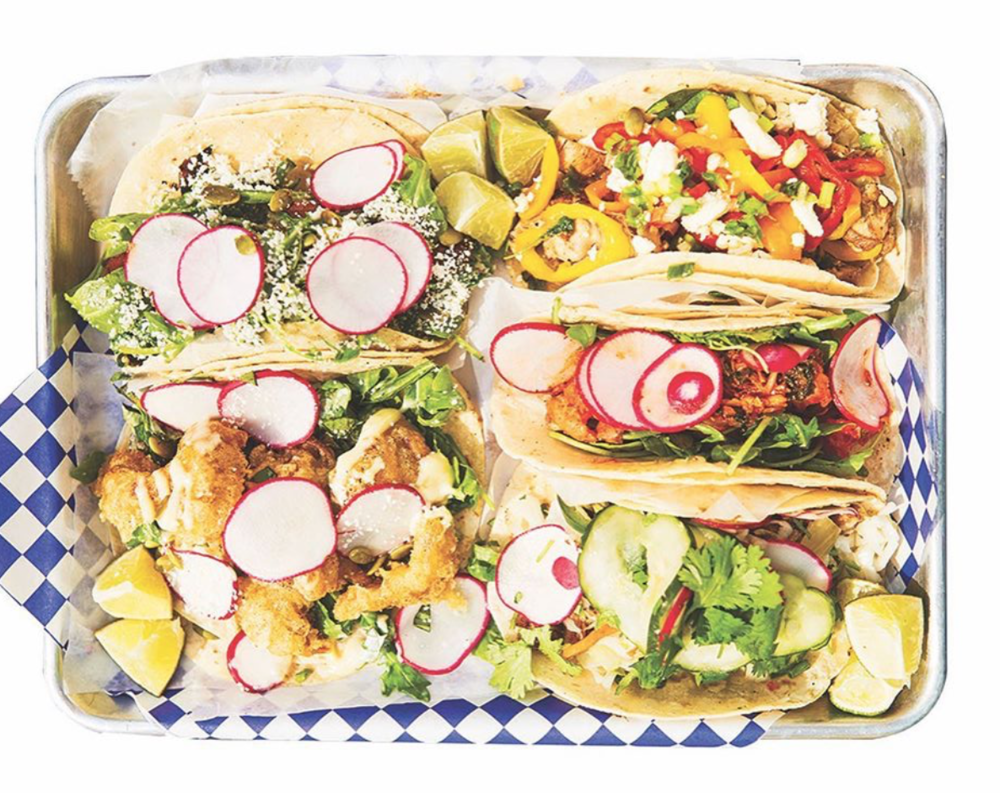 Taco Platter. Photo courtesy of Milwaukee Magazine