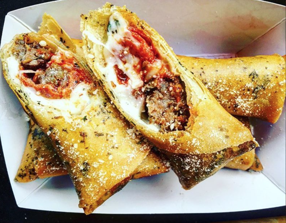Pizza Lumpia. Photo courtesy of Lumpia City