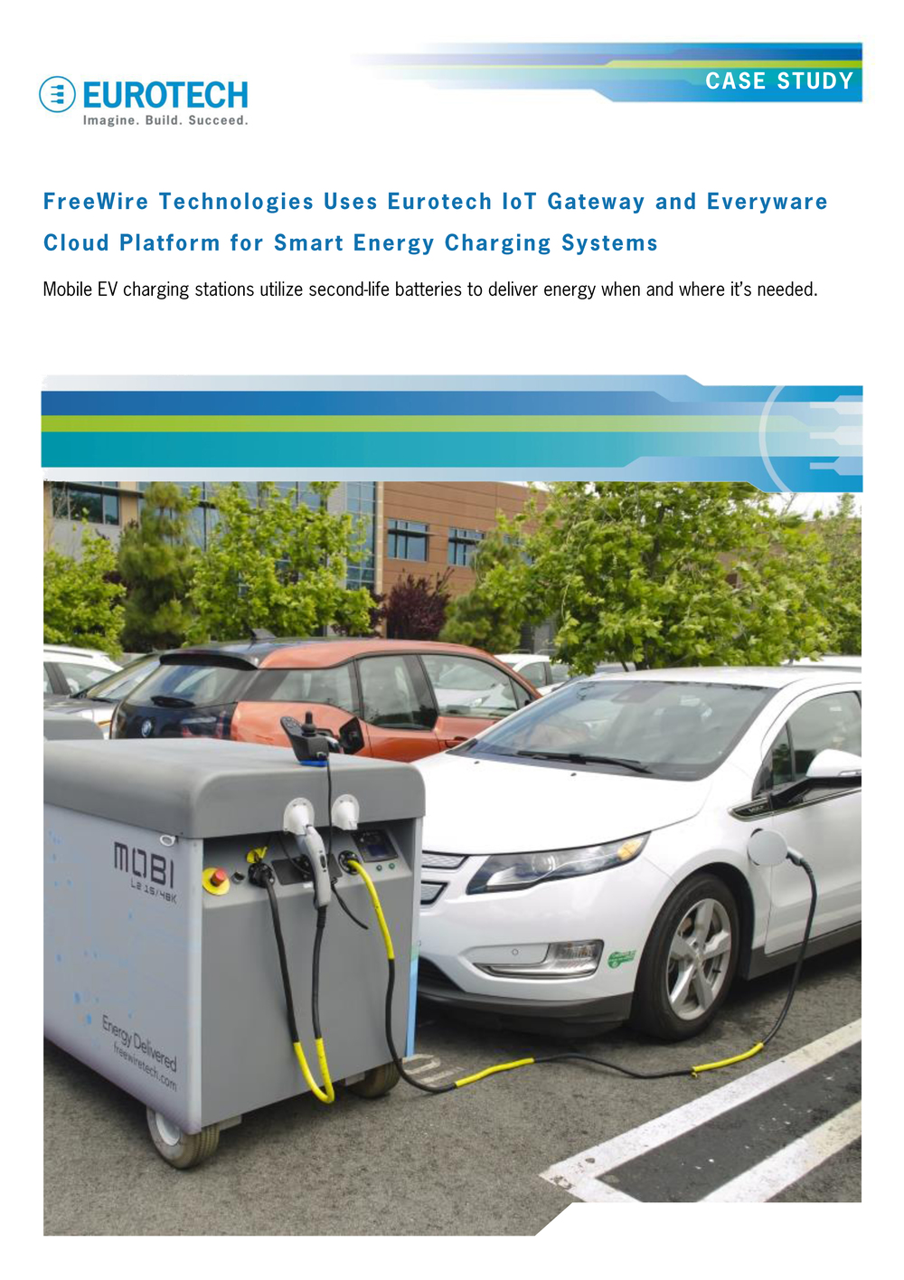 FreeWire uses Eurotech's IoT Gateway for smart mobile EV charging