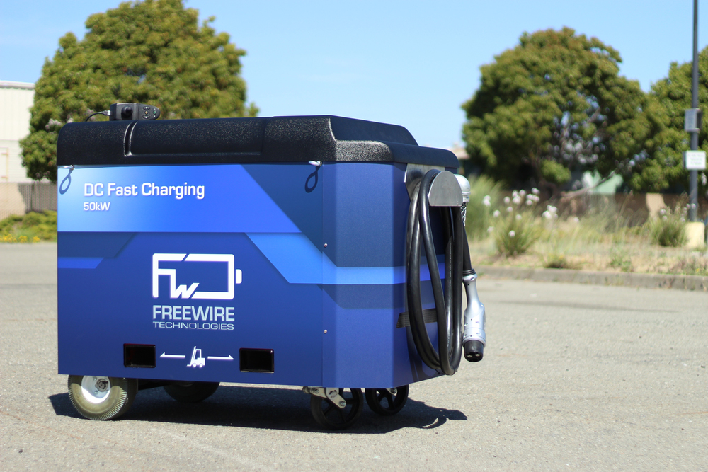 The fast charging Mobi Charger gets a boost - 50kW