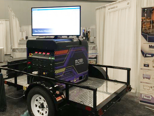 Mobi Gen TWS on display as an innovative solution for disaster relief