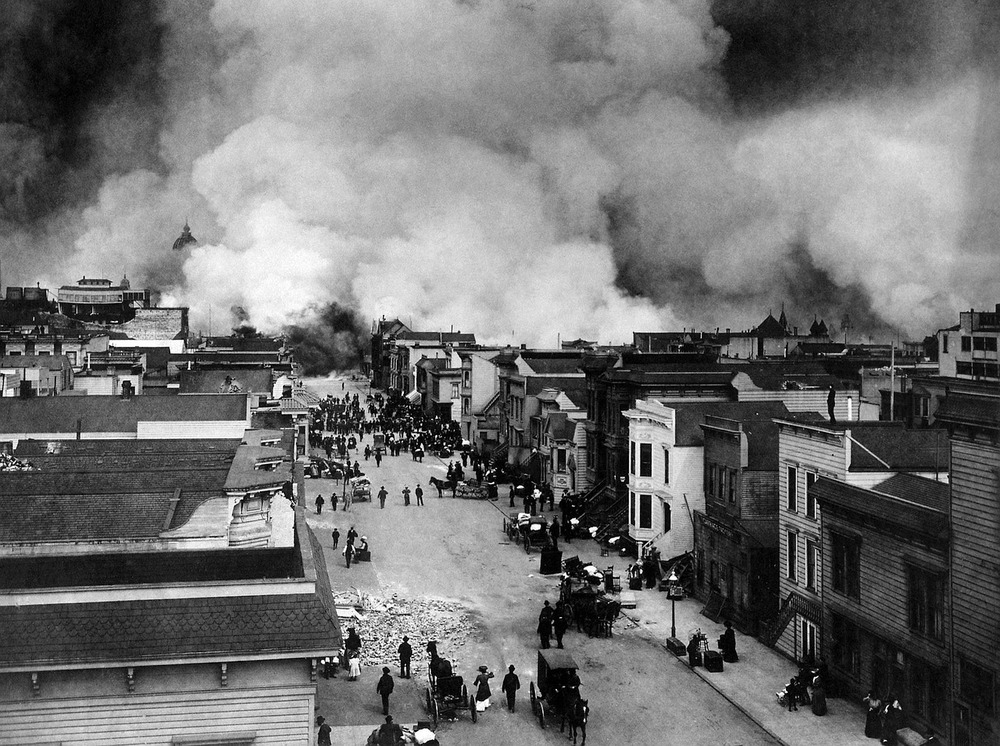 Earthquake in San Francisco, CA, 1906