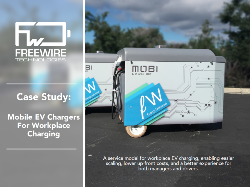 First pilot of mobile EV charging station is successful