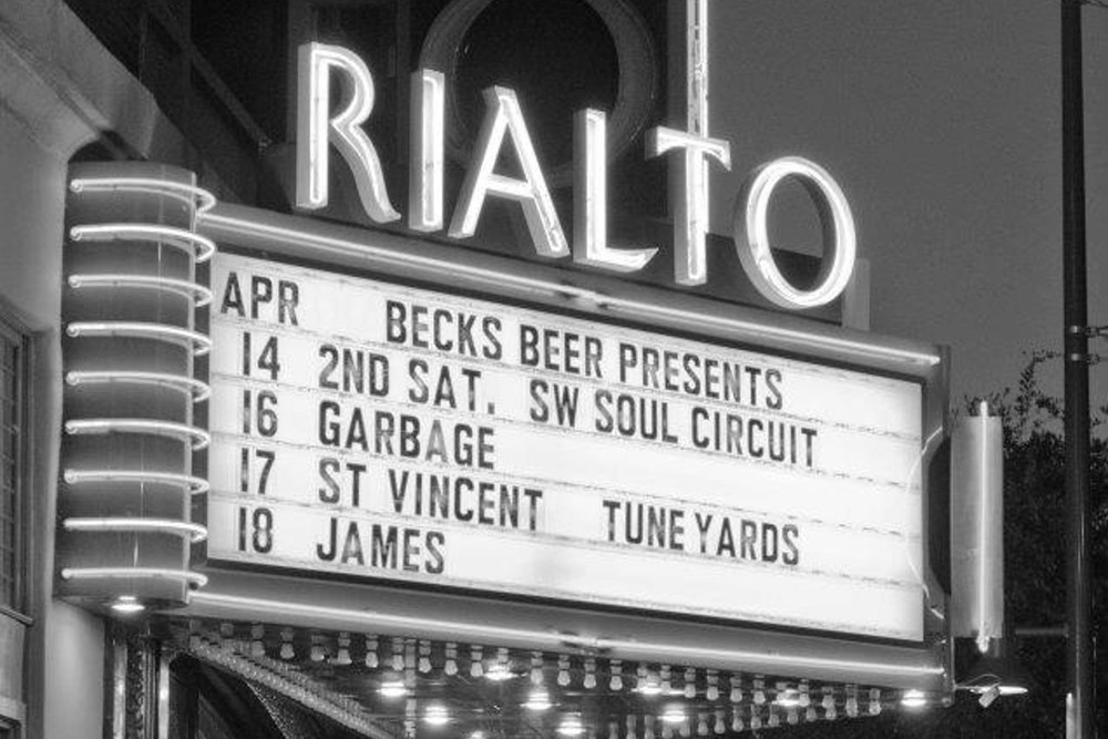 Soul Music at 2nd Saturdays at the Rialto Theatre - Tucson, AZ Apr 2013