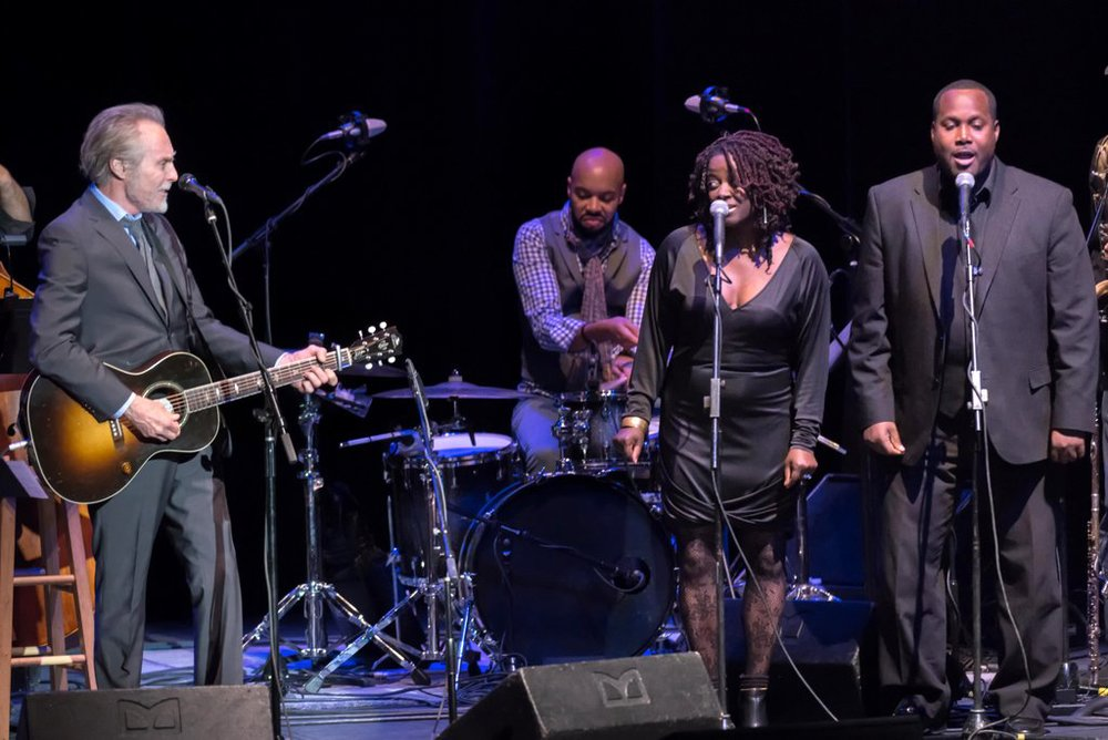 Kevin & Tanishia with the legendary JD Souther - 1st Annual Tucson Jazz Festival - Jan. 2015