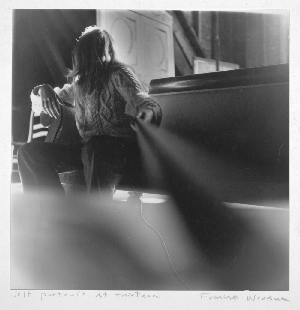 Self Portrait by Francesca Woodman